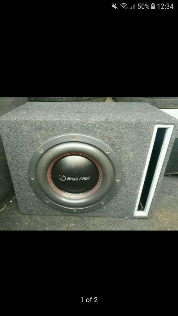 bassface competition subwoofer very loud quility window shakin bass bargain big power
