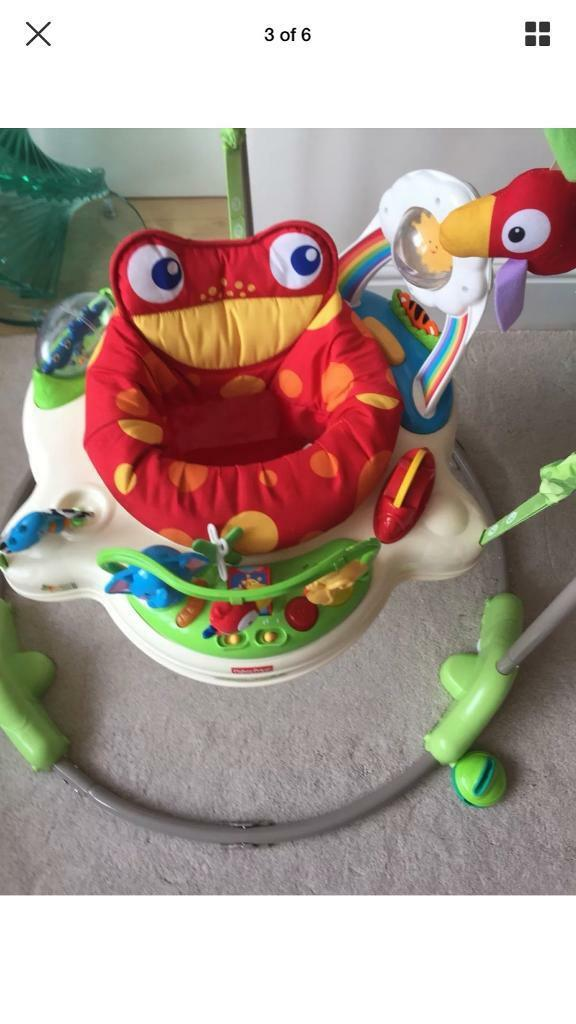 9f88e2128301 fisher price rainforest jumperoo Used In Great Condition
