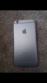 iPhone 6 has few Scraches but still works no charger or box