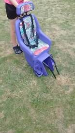 Kettler child bike seat