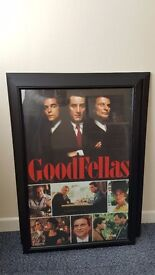 GOODFELLAS MOVIE FRAMED PRINT