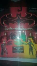 Batman & Robin Kenner unopened figures