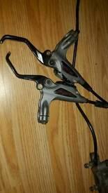 Mountain bike hydraulic brakes