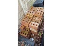 Approx 140 bricks, used and unused.