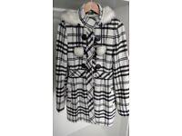 Jane Norman Checkered Coat