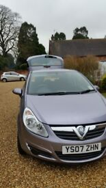Vauxhall Corsa Club 19000 miles full history 2 owners.