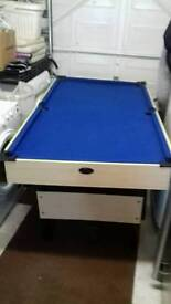 6 ft pool table collection only