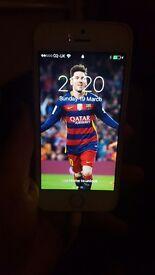 Iphone 5s white unlocked 16gb