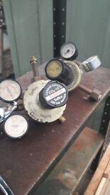 Co2 bottle gas regulators