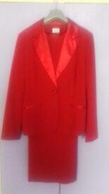 Ladies' Red Tuxedo.