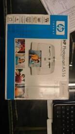 Hp photosmart A516 compact photo printer.