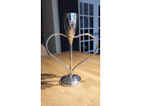 Beautiful champagne flutes. Wedding/anniversary gift/toast, centrepiece, love glasses. CHEERS!!