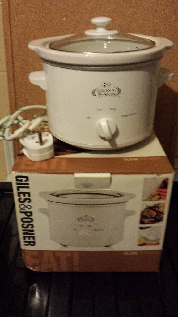 SLOW COOKER 1.5 LITRE (Giles & Posner) if reading this it will still be for sale