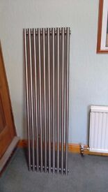 Radiator stainless steel. 1.5 M 10 bars. Horizontal or vertical fitting. Never needs painting.