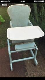 Vintage high chair only £30
