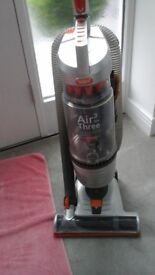 Vax air max3 vacuum cleaner with attachments.