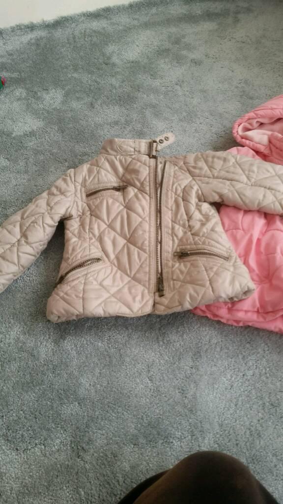 Girls coat 3-4y