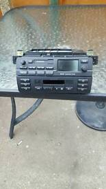 Bmw 6 disc player stereo and sat nav