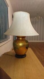 Vintage living room lamp