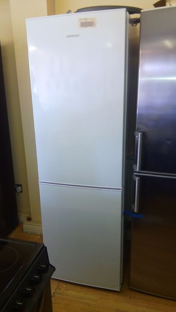KENWOOD 60cm white Fridge Freezer slightly marked Ex display