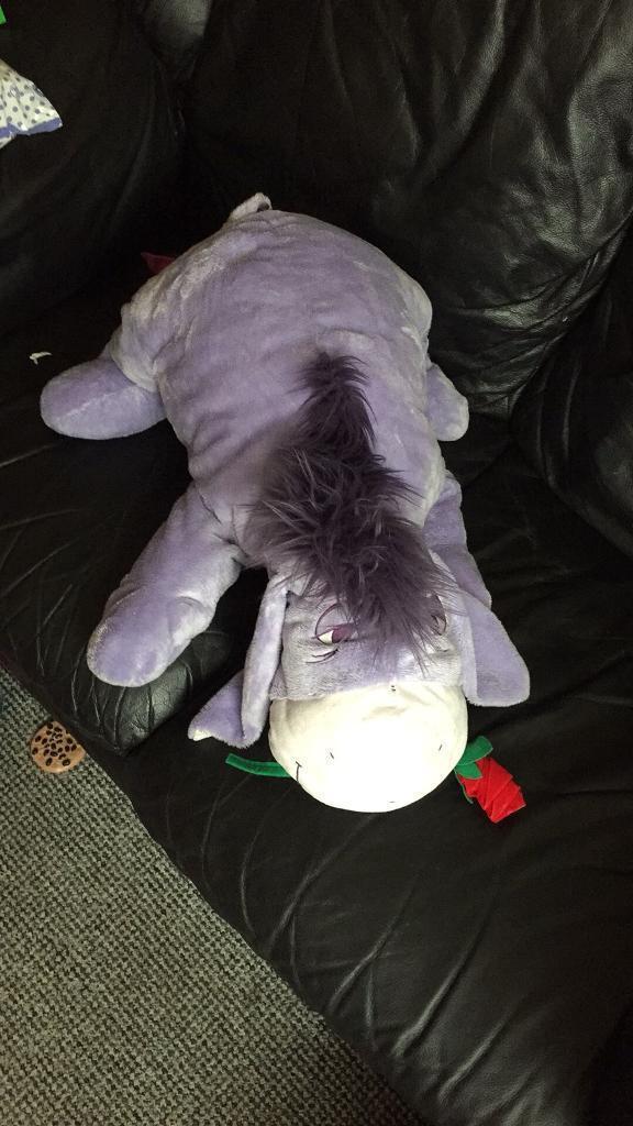 Large Disney Eeyore cuddly toy