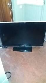 Phillips 55 inch tv with remote flatscreen