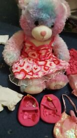 Build a bear soft toy and accessories