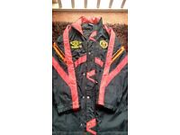 Genuine 90's Manchester united umbro jacket in excellent condition