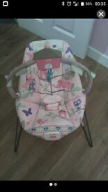 Fisher price baby girl bouncer