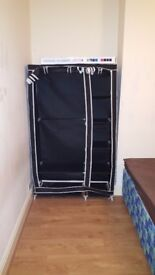 Urgent!! Double bed + wardrobe for sale! Good condition, to pick up today or tomorrow!!