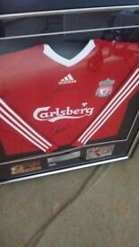 SIGNED LIVERPOOL FOOTBALL SHIRT - LIMITED EDITION