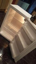 Under counter fridge £30!