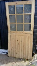 Unique Stable Door - Half Glazed