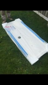 Low profile shower tray brand new in packaging