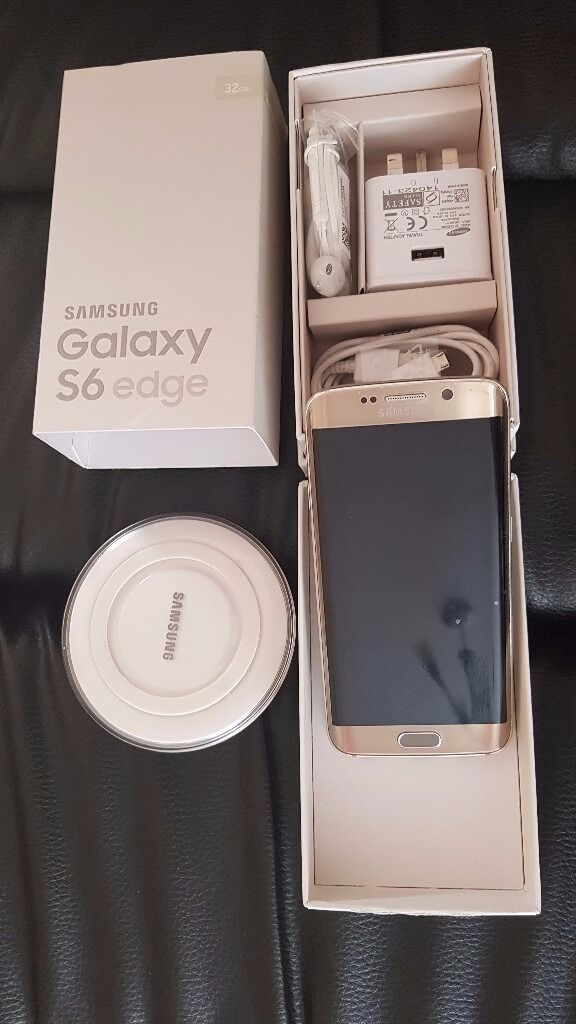 Samsung Galaxy S6 Edge32 Gb GoldSim Freein Sandwich, KentGumtree - Samsung S6 Edge, 32G, Sim Free, Gold SIM FREE ANY NETWORK Selling due to having an upgrade. Get free screen guard and back case. Very perfect condition, having kept in case throughout. Had a screen protector and case on it at all times. The phone is...