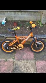 Orange bike like new