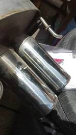 Janspeed exhaust for MG ZR