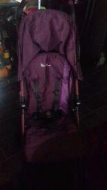Silvercross lightweight pushchair