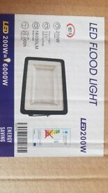 3NR 200w LED Floodlight Brand New. *REDUCED TO HALF PRICE TO SELL*