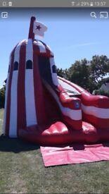 Bouncy castle helter skelter