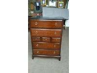 Stag Minstrel Mahogany Chest of Drawers