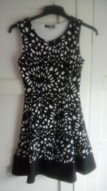 Quiz short party dress - size 8, slightly sparkly