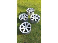"Mk2 Audi TT 18"" x 9J 'Turbine' design alloy wheels"