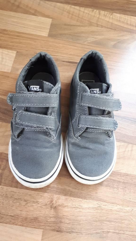2a46b62c0d8c Vans canvas boys shoes. Plymouth ...