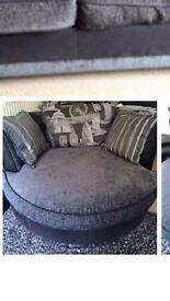 2 seater dfs cuddle chair