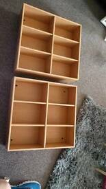 2 x 6 section shelves