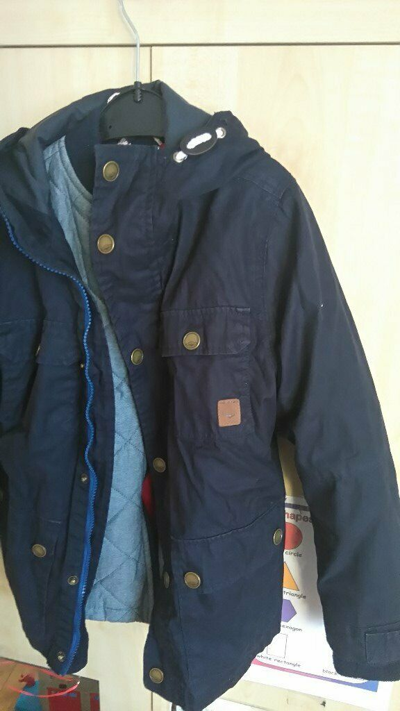 7631b0ff8 next parka all year roaund 3in1 jacket 9 years old boy