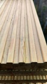 🍄Decking boards double sided treated ( PER METER £1.50)