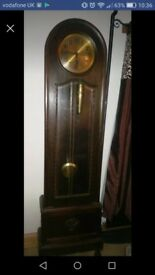 Antique grandfather clock- working