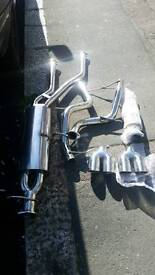 Bmw x5 e53 stainless exhaust